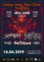 """Europe under Black Death Metal Fire""-Tour in der Schüür"